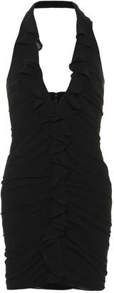 Saint Laurent Silk georgette minidress