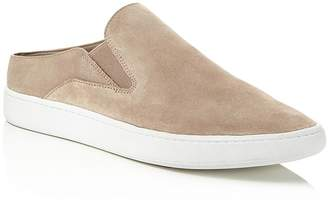 Vince Verrell Suede Slip-On Sneakers $195 thestylecure.com