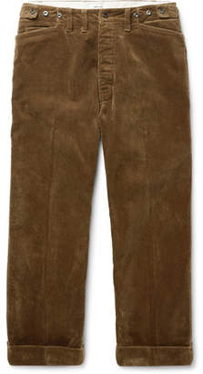 Chimala Wide-Leg Cotton-Corduroy Trousers