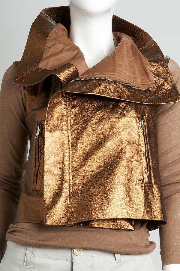 Rick Owens Classic Zip Vest
