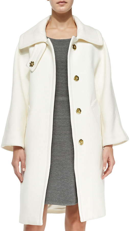 Milly Manon Wool-Blend Coat
