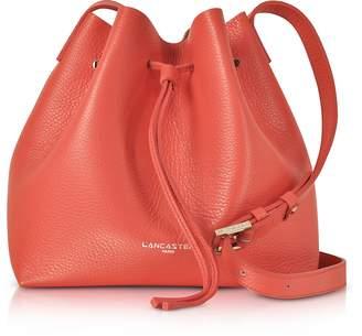 541de9ab0ec642 Lancaster Paris Pur & Element Foulonne Leather Bucket Bag