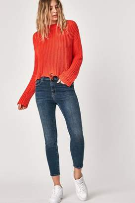 Mavi Jeans High Rise Cropped Jean