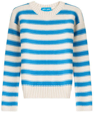 MiH Jeans Amorgos Striped Cotton Blend Pullover