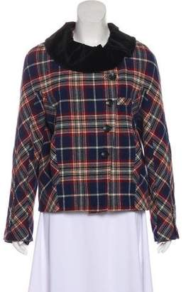 Golden Goose Wool Plaid Jacket