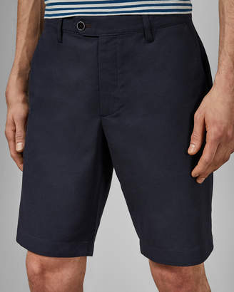 Ted Baker JAMAICR Two tone woven cotton shorts