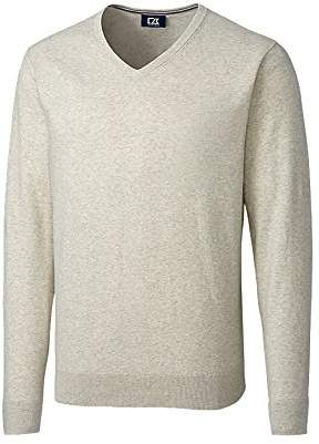 Cutter & Buck Men's Big & Tall Machine Washable Lakemont V-Neck Sweater