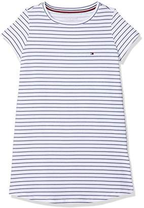 Tommy Hilfiger Girl's Ss Dress Stripe Nightie,(Manufacturer Size: 10-11)