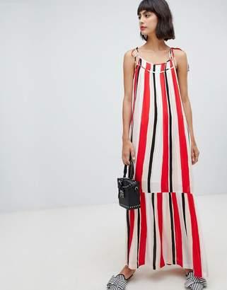 InWear Rose Stripe Maxi Dress