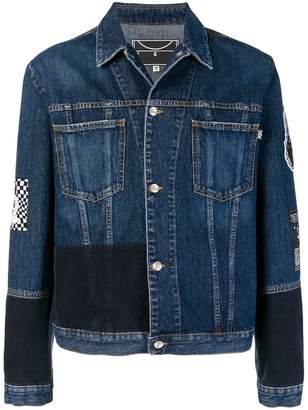 McQ Skate badge denim jacket
