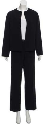 Michael Kors Virgin Wool Pantsuit
