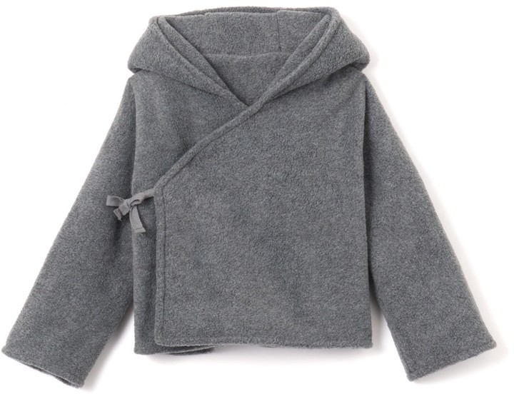 La Redoute Collections Hooded Cardigan, Birth - 2 Years