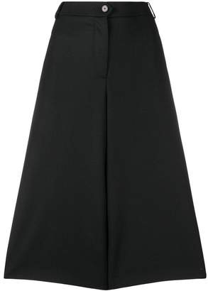 Antonio Marras cropped wide leg trousers