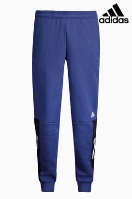 Next Mens adidas Blue Logo Jogger