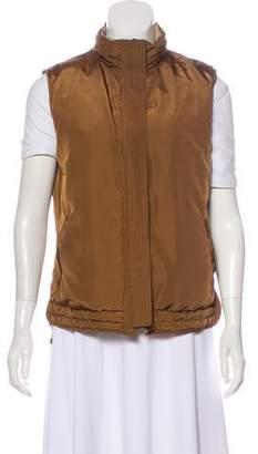Max Mara Weekend Reversible Stand Collar Vest