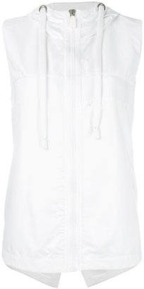 No Ka' Oi zipped hooded gilet $252.74 thestylecure.com
