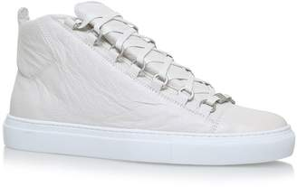 Balenciaga Leather Arena High-Top Sneakers