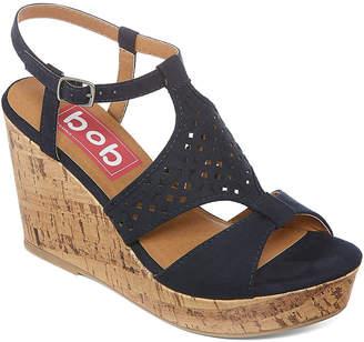 POP Womens Dareese Wedge Sandals