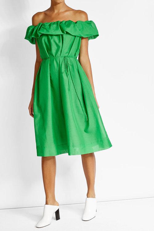 Paule KaPaule Ka Cotton Dress with Silk