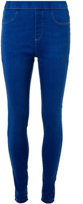 Dorothy Perkins Womens Mediterranean Blue 'Eden' Super Soft Jeggings
