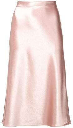 Vince midi a-line skirt