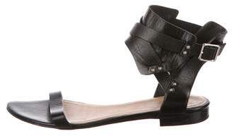 IRO Leather Ankle Strap Sandals
