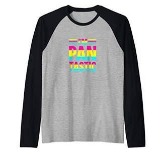 e3246032 Funny Pantastic LGBTQ Pansexual Gay Pride Gift Raglan Baseball Tee