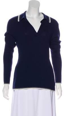 Frame Knit Long Sleeve Sweater