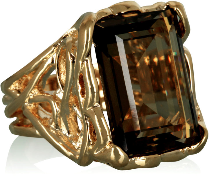 CC Skye Topaz Cocktail Ring