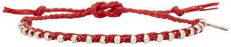 Paul Smith Red Friendship Bracelet