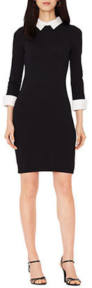 Lauren Ralph Lauren Collared Sheath Dress $154 thestylecure.com