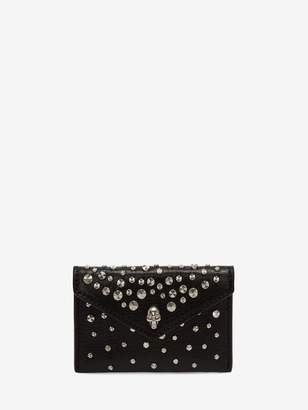 Alexander McQueen Skull Envelope Card Holder