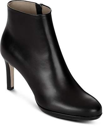 Hobbs London Julietta Leather High Heel Booties
