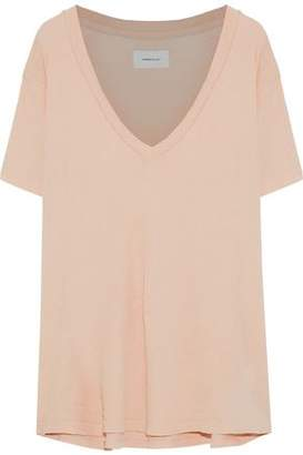 Current/Elliott The V-Neck Slub Cotton-Jersey T-Shirt