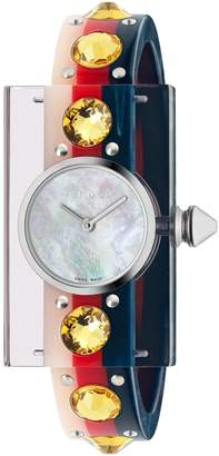 Gucci Vintage Web Bangle Watch, 24mm x 40mm