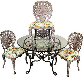 One Kings Lane Vintage Grotto Style Patio Dining Set,Set of 5 - Von Meyer Ltd.