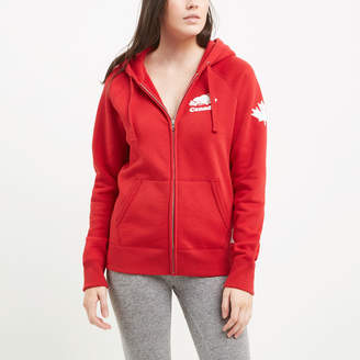 Roots Womens Cooper Canada Full Zip Hoody
