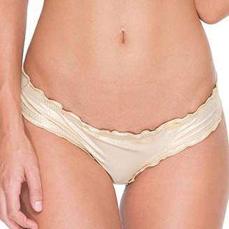 Luli Fama Cosita Buena - Wavey Brazilian Ruched Back Bottom-DCC