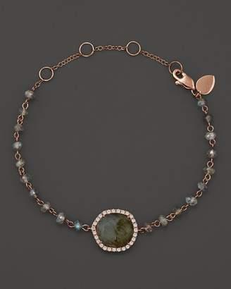 Meira T 14K Rose Gold Labradorite Bead Bracelet