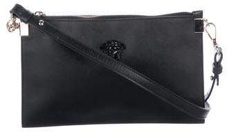 5b8e407e1341 Versace Leather Palazzo Pouch