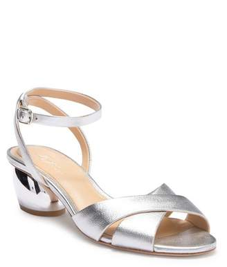 Vince Camuto Imagine Leven Leather Cynlindrical Heel Sandal