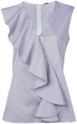 ADAM by Adam Lippes striped ruffle blouse