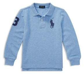 Ralph Lauren Boys' Cotton Mesh Polo - Little Kid