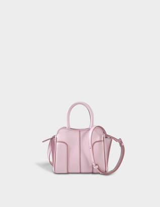 Tod's Sella Micro Bag in Lilac Grace Lux Calfskin