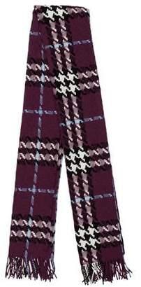 Burberry Merino Wool Fringe-Trimmed Shawl