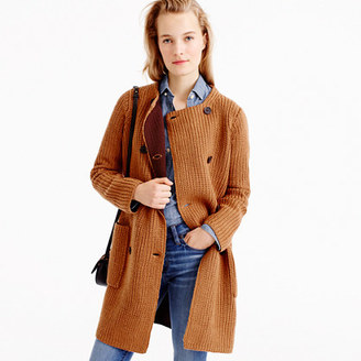 Collection bonded-knit sweater coat $298 thestylecure.com