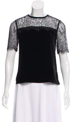 CAMI NYC Amber Velvet Top w/ Tags