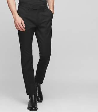 Reiss WESTBURY Slim-fit cotton trousers