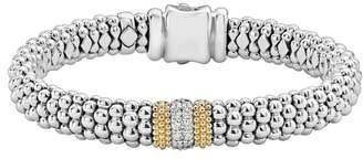 Lagos Luxe Pave Diamond 9mm Bracelet