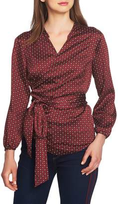 1 STATE 1.STATE Wrap Blouse